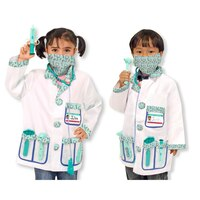 Melissa & Doug Role Play Costume Set Doctor
