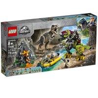 LEGO(r) Jurassic World T-Rex vs Dino-Mech Battle 75938
