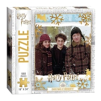 "USAopoly Harry Potter ""Christmas at Hogwarts"" Puzzle 550 Pieces"