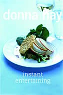 Book Instant Entertaining by Donna Hay