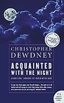 Book Acquainted with the Night by Christopher Dewdney