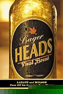 Book Lager Heads by Paul Brent