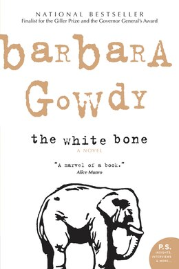 Book The White Bone by Barbara Gowdy