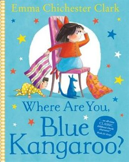 Book Where Are You, Blue Kangaroo? by Emma Chichester Clark