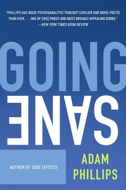 Book Going Sane by Adam Phillips