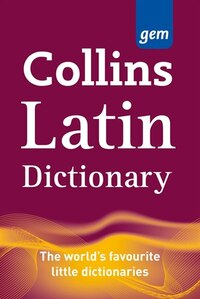 Collins Gem Latin Dictionary 2nd Edition
