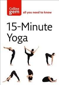 Book 15-Minute Yoga (Collins Gem) by Chrissie Gallagher-mundy