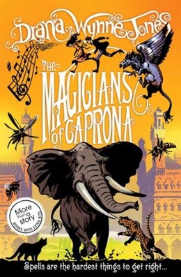 Book The Chrestomanci Series 2 the Magicians of Caprona by Diana Wynne Jones