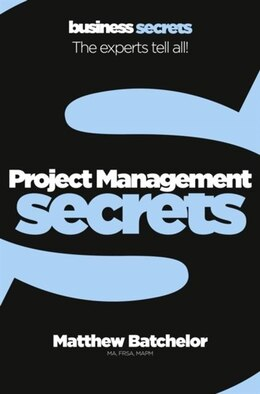 Book Collins Business Secrets - Project Management by Collins