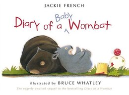 Book Diary of a Baby Wombat by Jackie French