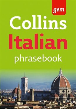 Book Collins Gem Easy Learning Italian Phrasebook by Collins