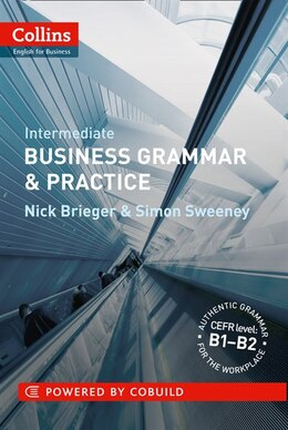 Book Collins Business Grammar And Practice Intermediate by Nick S Brieger