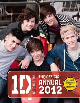 Book One Direction: The Official Annual 2012 by Nxd