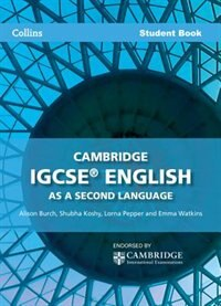 Book Cambridge IGCSE English As A Second Language Student Book: CIE by Ceri K Jones