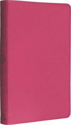 Book Holy Bible: Esv Anglicized Thinline Pink Leather by Harpercollins UK