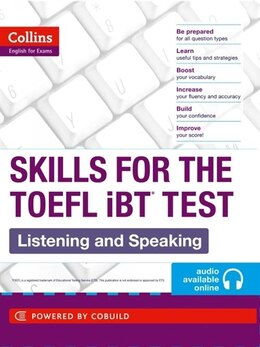 Book Collins TOEFL Listening And Speaking by Collins