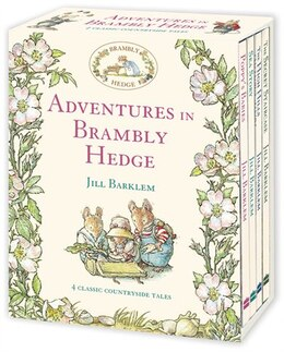 Book Adventures In Brambly Hedge by Jill Barklem