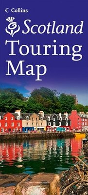 Book Visit Scotland Touring Map (New Edition) by Collins