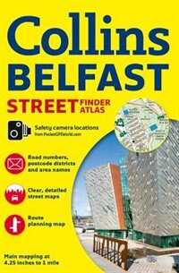 Book Belfast Streetfinder Colour Atlas New Edition by Collins