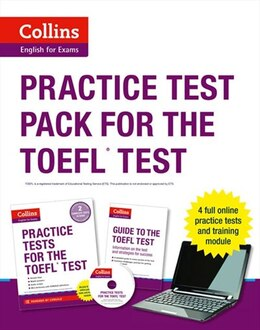 Book Collins TOEFL Practice Tests by Harpercollins