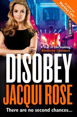Book Disobey by Jacqui Rose