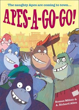Book Apes A Go Go by Roman Milisic