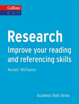 Book Collins English For Academic Purposes/Research by Anneli Williams