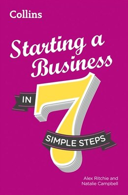 Book Starting A Business In 7 Simple Steps by Collins
