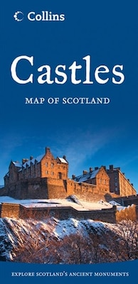Book Castles Map Of Scotland (2013 Edition) by Collins