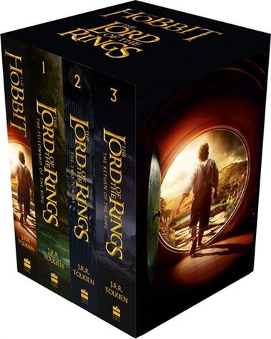 The Hobbit and The Lord of the Rings: Boxed Set (movie Tie-in Edition) by J.R.R Tolkien