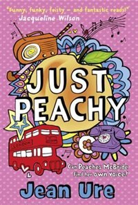 Book Just Peachy by Jean Ure