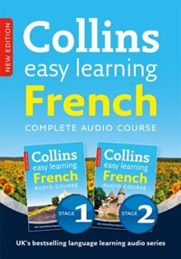 Colins Easy Learning Audio Course - Complete French (Stage 1 And 2) Box Set