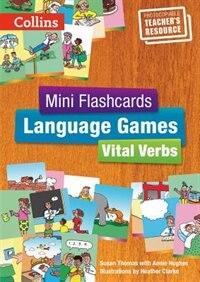 Book Mini Flashcards Language Games/Vital Verbs: Teacher's Book by Susan Thomas