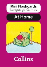 Book Mini Flashcards Language Games/At Home by Susan Thomas