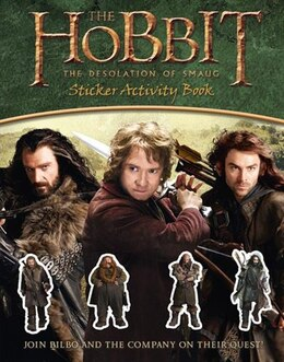 Book The Hobbit: The Desolation Of Smaug - Sticker Activity Book by Jrr Tolkien