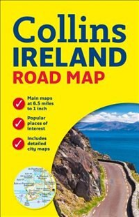 Ireland Road Map New Edition by Collins