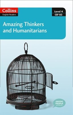 Book Collins Elt Readers/amazing Thinkers And Humanitarians (level 4) by Collins