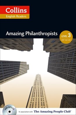 Book Collins ELT Readers/Amazing Philanthropists Level 3 by Collins