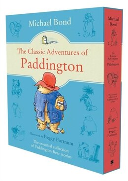 Book The Classic Adventures Of Paddington (Slipcase Edition) by Michael Bond