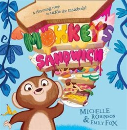 Book Monkey's Sandwich by Michelle Robinson
