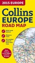 2015 Collins Map Of Europe (New Edition)