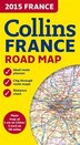 2015 Collins Map Of France (New Edition)