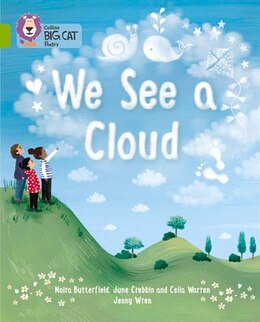 Book We See A Cloud: Band 11/lime (collins Big Cat) by June Crebbin