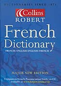Book Collins-Robert French Dictionary by Harper Collins