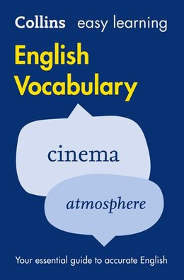 Book Easy Learning English Vocabulary (Collins Easy Learning English) by Collins Dictionaries