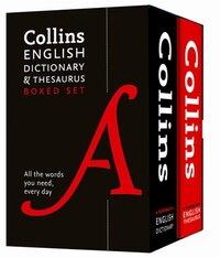 Collins English Dictionary And Thesaurus Set (Second Edition)