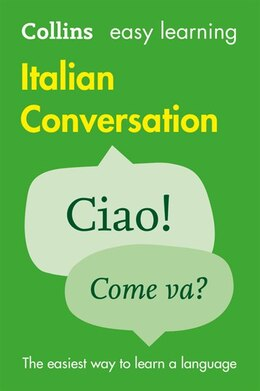Book Collins Easy Learning Italian/Easy Learning Italian Conversation by Collins Dictionaries