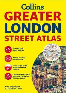 Book Greater London Street Atlas by Collins Maps