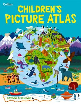 Book Collins Children's Picture Atlas by Collins Maps