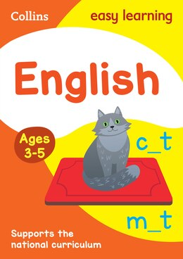 Book Collins Easy Learning Preschool - English Ages 4-5: New Edition by Collins Easy Learning
